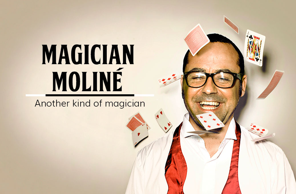 Magician Moliné from Barcelona
